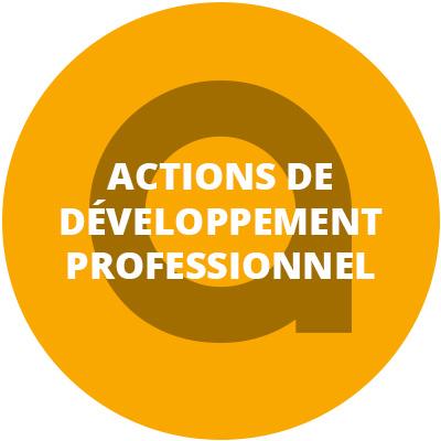 Actions de développement professionnel